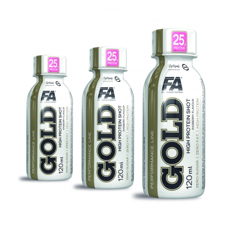 FA Nutrition Performance Gold High Protein Shot 3 x 120 ml