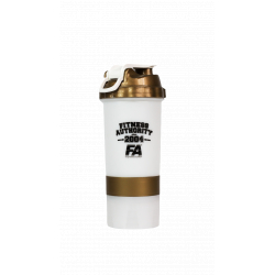 FA Shaker 500 ml White/Gold
