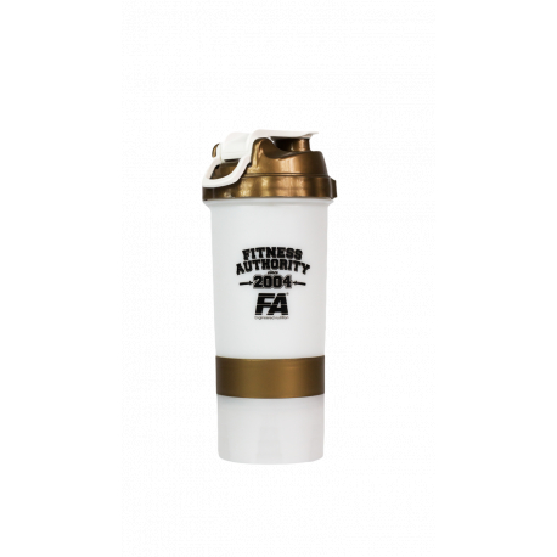 FA Shaker 500 ml White/Gold
