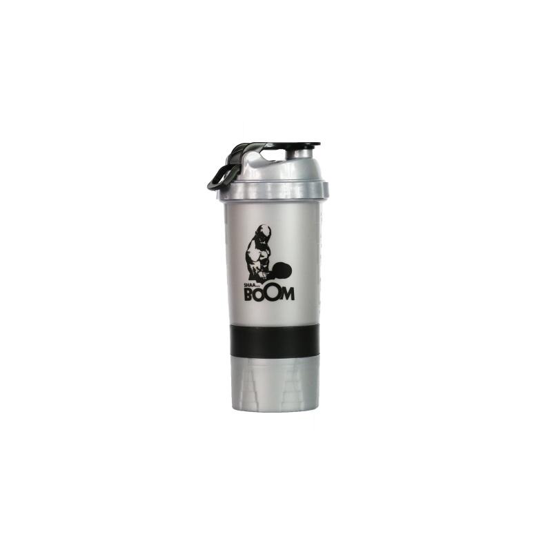 Shaker LEVRONE 500 ml Silver/Black