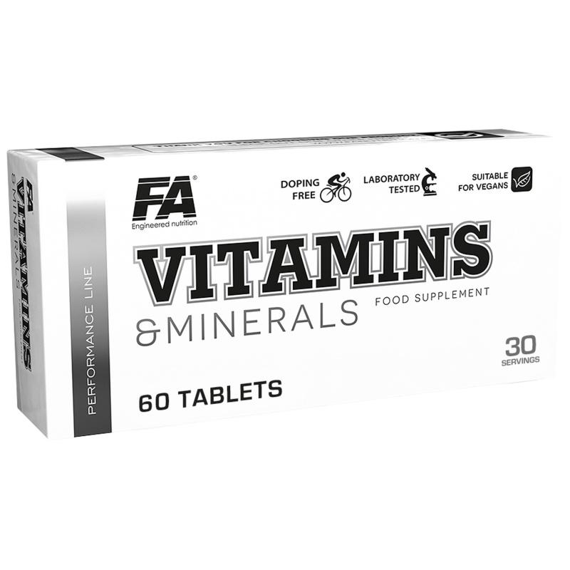 Vitamins & Minerals 60 tabs