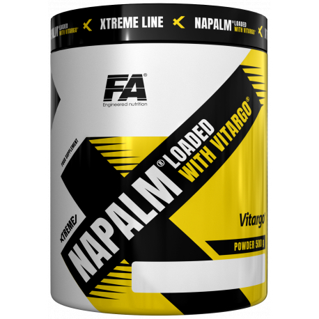 FA Nutrition Xtreme Napalm loaded with Vitargo 500 g