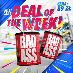 Promocja! BAD ASS Pre 500 g + Bad Ass Crea 300 g