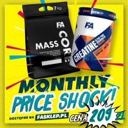 Zestaw Miesiąca II - FA Core Mass 7 kg + Xtreme Creatine 500 g