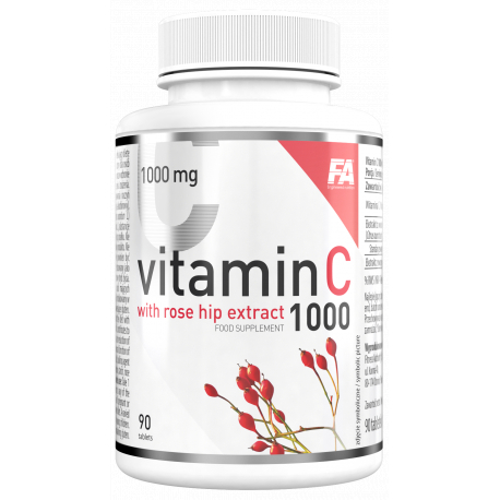 FA Health Line Vitamin C 1000 with rose hip extract 90 tabs