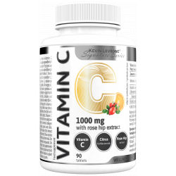 LEVRONE Wellness Series Vitamin C with rose hip extract 90 tabs