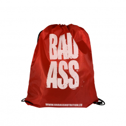 BAD ASS bag BLACK/RED
