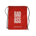 BAD ASS bag BLACK/RED