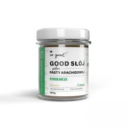So good! GOOD Jar full of orange peanut paste 300 g