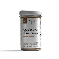 So good! GOOD Słój pełen pasty arachidowej z kawą i wanilią 500 g