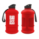 BAD ASS Water jug 1.3 L red/white