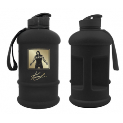 LEVRONE Water jug 1.3 L black/gold