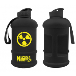 NUCLEAR NUTRITION Water jug 1.3 L BLACK/YELLOW