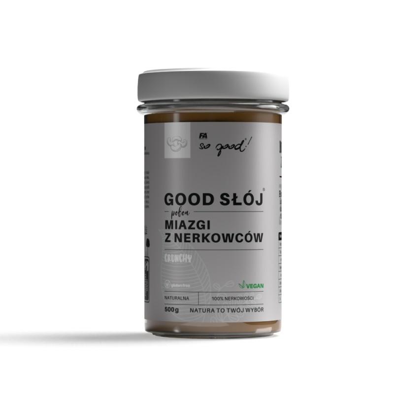 So good!® GOOD JAR® full of CASHEW BUTTER CRUNCHY 500 g