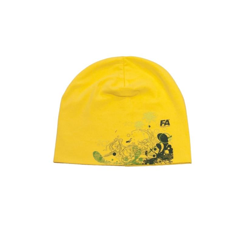 Czapka Beanie Fa Yellow