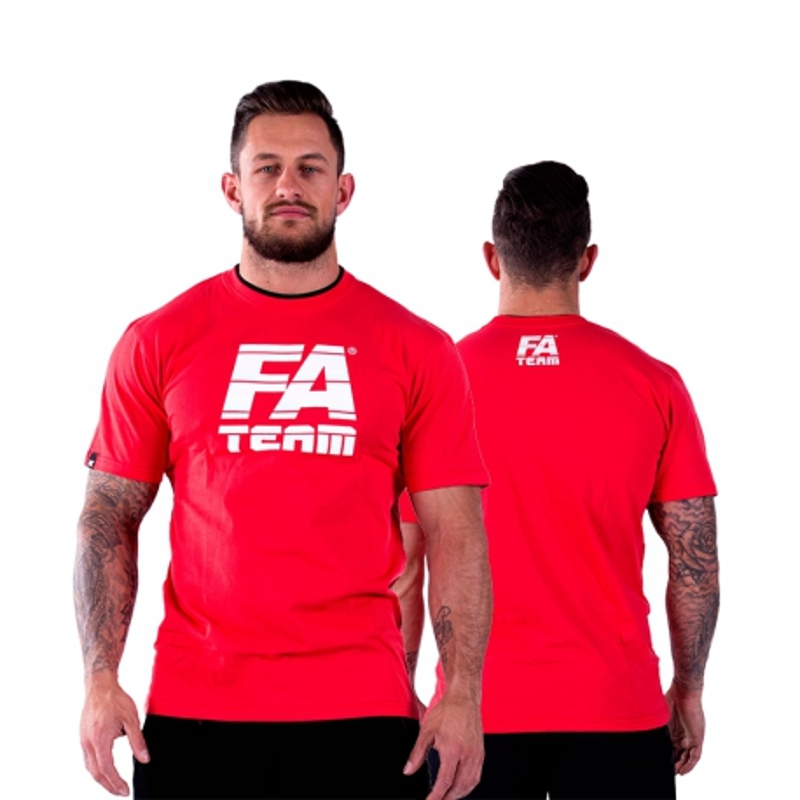 T-shirt FA Team (Czerwona)