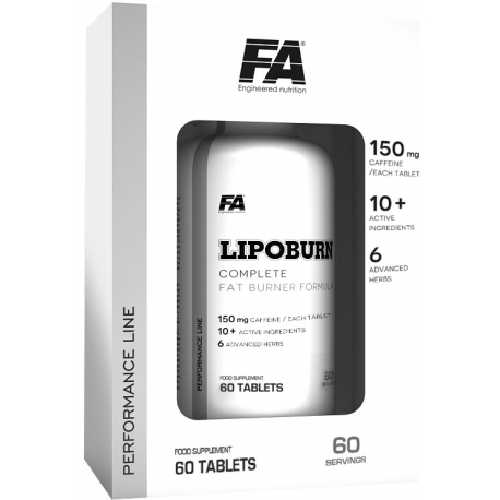 FA Nutrition LipoBurn 60tabletek
