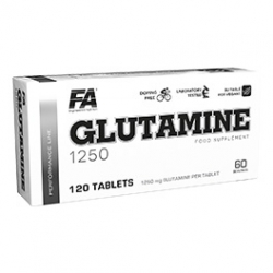 FA Nutrition Glutamine 1250 120 tab