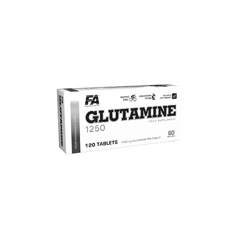 FA Nutrition Glutamine 1250 120 tab