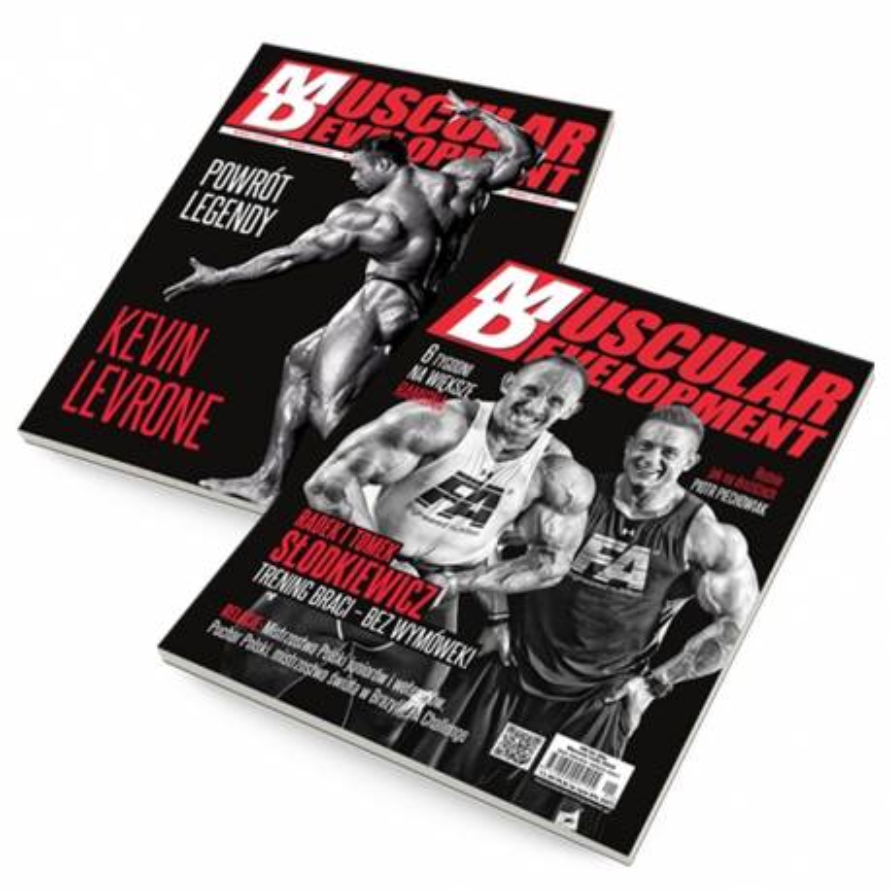 MD Muscular Development magazyn
