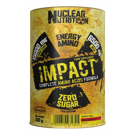 NUCLEAR NUTRITION IMPACT AMINO ACIDS 500g