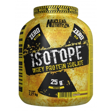 NUCLEAR NUTRITION ISOTOPE WHEY PROTEIN ISOLATE 2270g