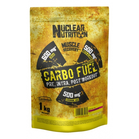 NUCLEAR NUTRITION CARBO FUEL PRE. INTRA. POST WORKOUT 1kg