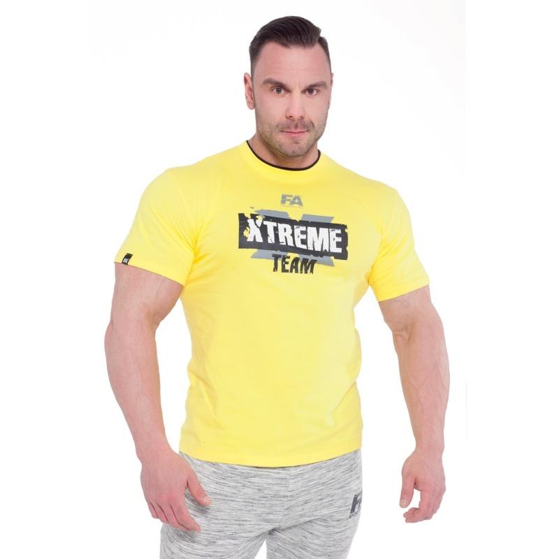 T-shirt FA Xtreme Team (Żółta)