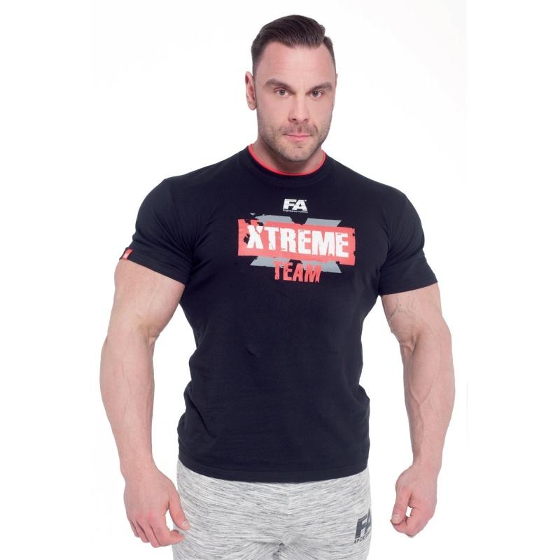 T-shirt FA Xtreme Team (Czarna)