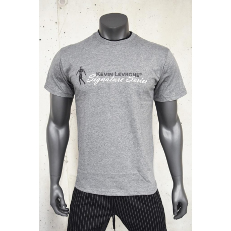 T-SHIRT DOUBLE NECK KEVIN LEVRONE 03 LIGHT HEATHER GREY