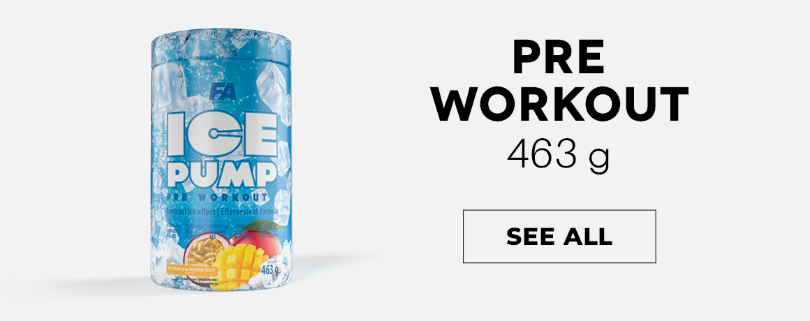 FA Ice Pump Pre Workout 463 g